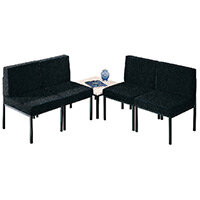 First Reception Chair Charcoal KF74646