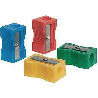 Single Hole Sharpener Plastic Pack of 10