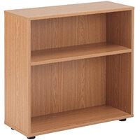 Jemini 18 Oak 720mm Desk Bookcase KF78965