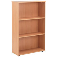 Jemini 18 Beech 1236mm Open Bookcase KF78966