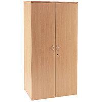 First 2000mm Cupboard 4 Shelf Beech KF839206