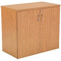 First 730mm Cupboard 1 Shelf Oak KF839207