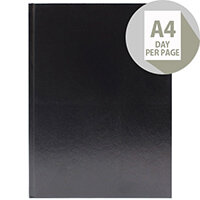Desk Diary A4 Day Per Page 2020 Black KFA41BK20