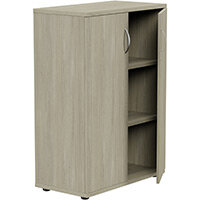 Medium Cupboard with Lockable Doors H1130mm Arctic Oak Kito