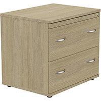 Kito 2 Drawer Side Filer Cabinet Urban Oak