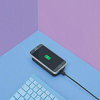 Qi Wireless Charger Pad Black QIPAD2