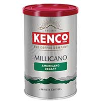 Kenco Millicano Caffeine Free Instant Coffee 100g Tin Pack of 1 643124