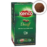 Kenco Instant Freeze Dried Decaffeinated Coffee Sticks 1.8g Pack of 200 89951