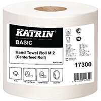 Katrin White Centrefeed 2 Ply Hand Towel White Pack of 6 17300