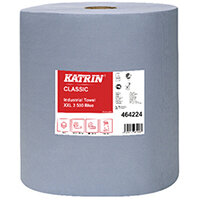 Katrin Classic Industrial XXL3 Blue Laminated Towel 500 Pack of 2 464224