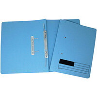 Transfer Files A4 Blue Pack of 50 LL06282