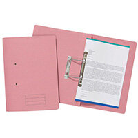 Spiral Files 285gsm Foolscap Pink Pack of 50 TFM50-PNKZ