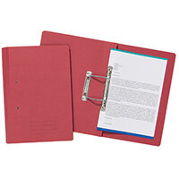 Spiral Files 285gsm Foolscap Red Pack of 50 TFM50-REDZ