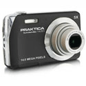 Praktica LM14-Z51 Digital Camera Black + 4GB Card 14.0 Megapixel