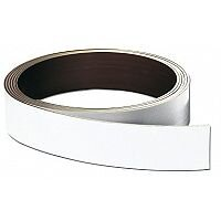 Franken Store Labels Magnetic Strip 40mm x 10m White LS40