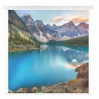 Franken ECO W3000 x H3000mm Electric Roll-Up Projection Screen