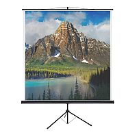 Franken Tripod Projection Screen ValueLine W:1500xH:1500mm Format 1:1 LWST215