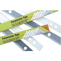 Pelltech Suspension Tape 4-Hole A0 55x841mm Embroidery Pack of 100 PLAEM4841
