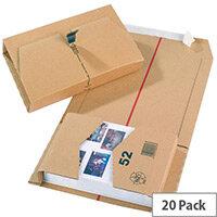 MailingBox 270x190x80mm Pk20 11210