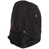 "Gino Ferrari Eros 16"" Laptop Backpack Red Trim GF507"