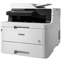 Brother MFC-L3770CDW Printer A4 Colour Laser Multifunction LED 4-in-1, Print Speed 24ppm, 250 Sheets Feeder