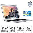 "Apple MacBook Air Notebook 11.6"" Core i5 - OS X 10.9 Mavericks 4GB 128GB Flash"