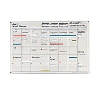 Mark-it Map Marketing Perpetual Year Planner Laminated ...