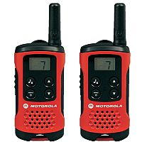 Motorola TLKR T40 Walkie Talkies - 2 Way Radio With 4km Range Pack of 2 - Battery level indicator - 500mW Transmit - Keypad lock - LCD display