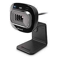 Microsoft LifeCam HD-3000 Black 720p Widescreen Webcam