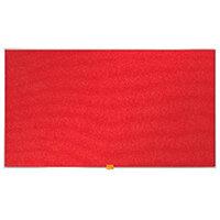 Nobo Widescreen  Felt Noticeboard 890x500mm Red 1905311