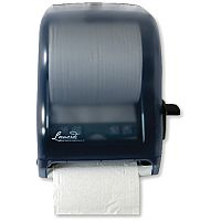 Leonardo Lever Control Blue Hand Towel Roll Dispenser DSRA12
