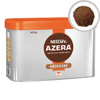 Nescafe Azera Americano Instant Coffee 500g, Instant Coffee Granules, Just Add Hot Boiled Water, Approx. 250 cups of Delicious Black Coffee (Pack of 1)