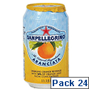 San Pellegrino Orange Sparkling Can