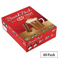 Nestle Chocoloate Biscuits & Coffee Break Individually Wrapped Pieces Pack 80 1.5kg 12338657
