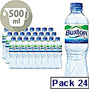 Buxton Still Mineral Water 500ml Bottle Pack 24