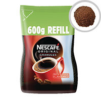 Nescafe Original Instant Coffee 600g Refill Pack of 1 12226526