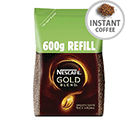 Nescafe Gold Blend Refill Pack 600g Ref 12226527