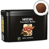 Nescafe Fairtrade Partners' Blend Instant Coffee 500g Tin Pack of 1 12284226