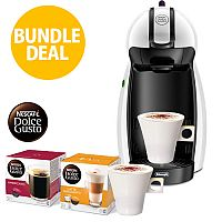 Nescafe Dolce Gusto Coffee Machine 2 Free Mugs & 2 Boxes of Coffee Capsules