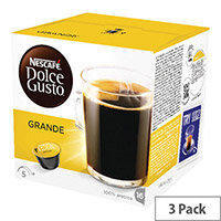 Nescafe Dolce Gusto Grande Capsules Pack of 48 12181434