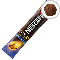Nescafe Gold Blend Decaffeinated One Cup Sticks Instant Coffee Sachets Pack of 200 12130482