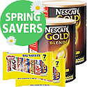 Nescafe Gold Blend Coffee 2 x 750g Plus FREE Nestle Variety Pack x 2