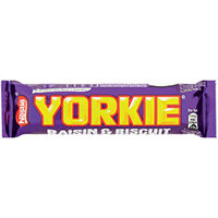 Nestle Yorkie Raisin and Biscuit 44g Pack of 24 12360869