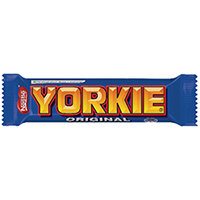 Nestle Yorkie Milk Chocolate Bar 46g Pack of 24 12351299