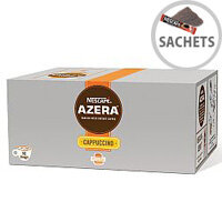 Nescafe Azera Cappuccino Instant Coffee Sachets Pack of 50 12262458