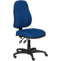 OA Series High Back High Back Operator Office Chair Blue Fabric