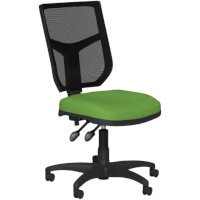 OA Series Mesh Back Office Chair with Adjustable Black Mesh Back & Bespoke Camira Blazer Wool Seat