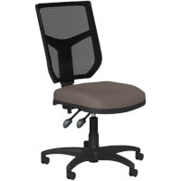 OA Series Mesh Back Office Chair with Adjustable Black Mesh Back & Bespoke Lotus PU Seat