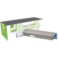 Q-Connect OKI MC861 Laser Toner Cartridge High Yield Magenta 44059254-COMP