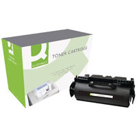 Q-Connect Lexmark T640/T642/T644 Laser Toner Cartridge High Yield Black 64004HE-COMP